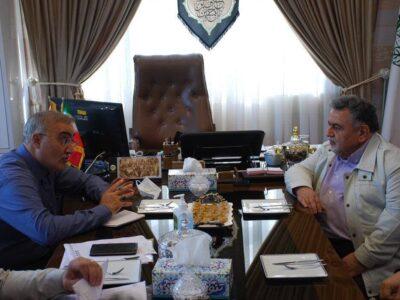 بازدید رئیس هیئت مدیره شرکت دخانیات ایران از مجتمع دخانیات گیلان